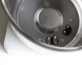 Récipient en acier inox pour le secteur de la robotique de cuisine